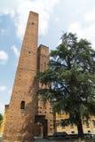 Pavia (Italy): medieval towers Royalty Free Stock Image