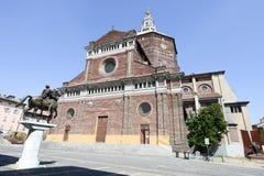 Pavia, Italy: Renaissance Cathedral Stock Photo