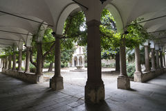 Pavia (Italy): University Royalty Free Stock Image