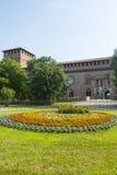 Pavia, kasztel fotografia royalty free