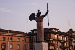 Pavia kobieta w wojnie fotografia royalty free
