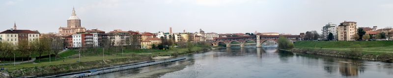 Pavia large panorama 2 Royalty Free Stock Photos