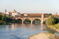 Pavia (Lombardije, Italië) royalty-vrije stock foto's