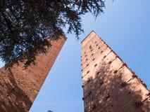 Pavia. Medieval towers Royalty Free Stock Image