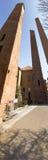 Pavia. Medieval towers Royalty Free Stock Photos