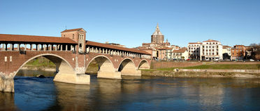 Pavia panorama Royalty Free Stock Photos