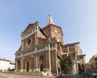 Pavia, Renaissance-Kathedrale Stockbilder