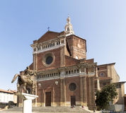 Pavia, Renaissance-Kathedrale Lizenzfreies Stockfoto