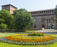 Pavia, Schloss lizenzfreie stockfotografie