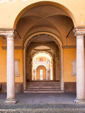Pavia. witching between the arches Stock Photo
