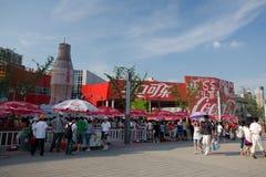 Pavilhão 2010 da cola da Shanghai-Coca da expo Fotografia de Stock Royalty Free