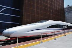 pavilhão 2010 da estrada de ferro da porcelana da expo de shanghai foto de stock royalty free