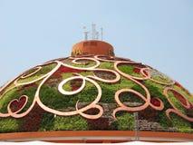 pavilhão 2010 de india da expo de shanghai Fotos de Stock Royalty Free