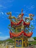 Pavilhão chinês em Penghu, Taiwan Imagens de Stock Royalty Free