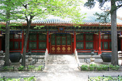 Pavilhão - a Cidade Proibida - Pequim - China Fotografia de Stock