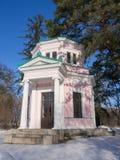 Pavilhão cor-de-rosa imagem de stock