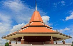 Pavilhão da arte em um templo Tailândia Fotografia de Stock