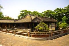 Pavilhão da matriz de rainha do imperador Khai Dinh Imagens de Stock