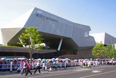 Pavilhão de Alemanha em Expo2010 Shanghai imagem de stock royalty free