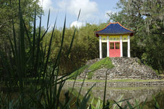 Pavilhão de Buddha Fotos de Stock