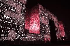 Pavilhão de Coreia do Sul da expo Fotos de Stock Royalty Free