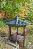 Pavilhão de Coreia em Changdeokgung Fotografia de Stock Royalty Free