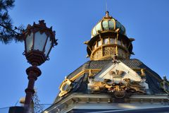 Pavilhão de Hanau Foto de Stock