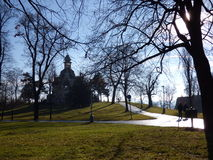 Pavilhão de Hanau, Praga - Letna Imagem de Stock Royalty Free
