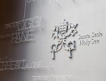 Pavilhão de Holy See na expo 2015 Fotos de Stock Royalty Free
