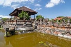 Pavilhão de Kertha Gosa no palácio de Klungkung, Semarapura Imagens de Stock Royalty Free