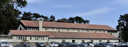 Pavilhão de Kezar o canto de Golden Gate Park, San Francisco, 1 imagem de stock