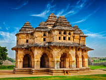 Pavilhão de Lotus Mahal imagens de stock royalty free