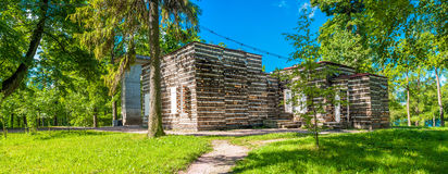 Pavilhão de madeira Imagem de Stock Royalty Free