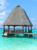 Pavilhão de Maldivas na luz solar Foto de Stock Royalty Free