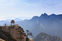 Pavilhão de Mount Hua Fotografia de Stock Royalty Free