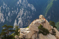 Pavilhão de Mount Hua Imagem de Stock