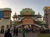 Pavilhão de Rússia na aldeia global em Dubai, UAE Foto de Stock Royalty Free