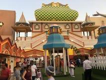 Pavilhão de Rússia na aldeia global em Dubai, UAE Imagem de Stock Royalty Free