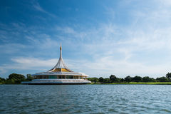 Pavilhão de Ratchamangkhala no parque de Suan Luang Rama 9 Fotografia de Stock Royalty Free
