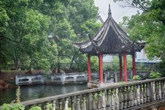 Pavilhão de Shanghai do chinês fotografia de stock royalty free