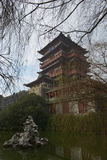 Pavilhão de Tengwang província em Nanchang, Jiangxi, China Imagens de Stock Royalty Free
