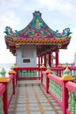 Pavilhão do estilo chinês no beira-mar Fotos de Stock Royalty Free