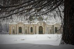 Pavilhão do Grotto em Kuskovo Imagem de Stock