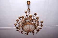 Pavilhão do Khedive, 2 candelabros centenários Fotos de Stock