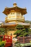 Pavilhão dourado Foto de Stock