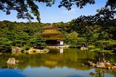 Pavilhão dourado Imagem de Stock Royalty Free