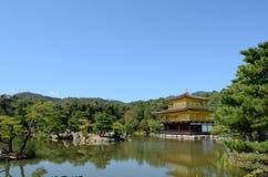 Pavilhão dourado de Kinkakuji Imagem de Stock