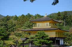 Pavilhão dourado de Kinkakuji, Kyoto Foto de Stock
