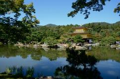 Pavilhão dourado de Kinkakuji, Kyoto Imagens de Stock