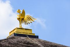 Pavilhão dourado famoso em Kyoto (Japão) imagens de stock